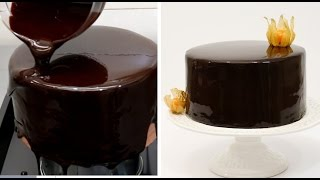 Chocolate Mirror Glaze Cake Recipe CHOCOLATE HACKS by Cakes Step by Step