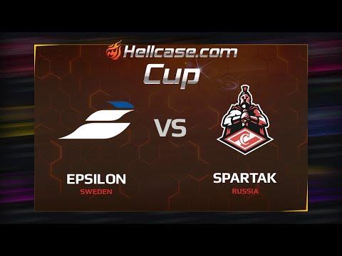 Epsilon vs Spartak, map 1 mirage, Hellcase Cup Season 5