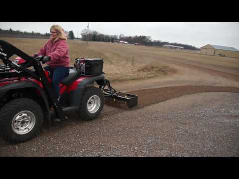 Wild Hare Atv Implement System Box Blade Youtube