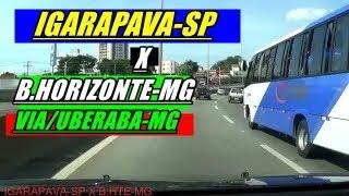 BR-050 , BR-262-IGARAPAVA-SP X BELO HORIZONTE-MG