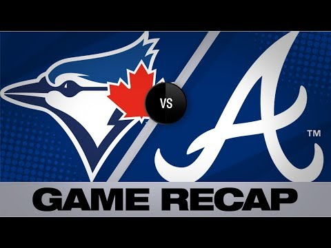 Braves'take Advantage Of Errors In 6-3 Win   Blue Jays-Braves Game Highlights 9/2/19