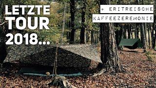 Die letzte Tour vom OutdoorBuddy   Herbst Übernachtung mit eriträischer Kaffeezeremonie