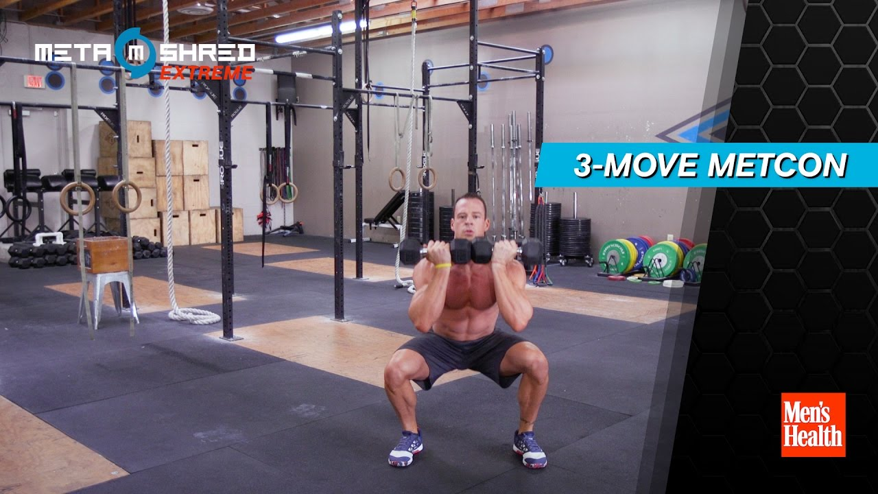 20 min 3-Move Metcon Created by Men's Health
