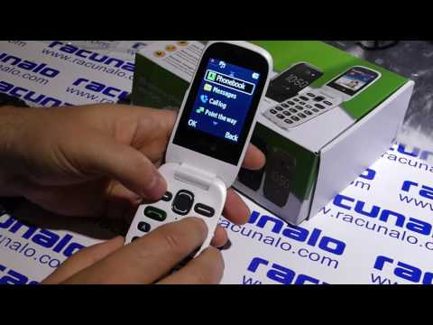 Doro PhoneEasy 632 - video test (22.08.2016)