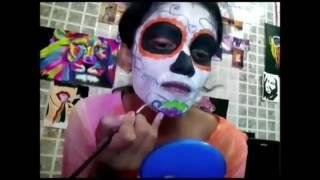 Sugar Skull Look In 3 minutes by Nikita Barua | Sooperstage