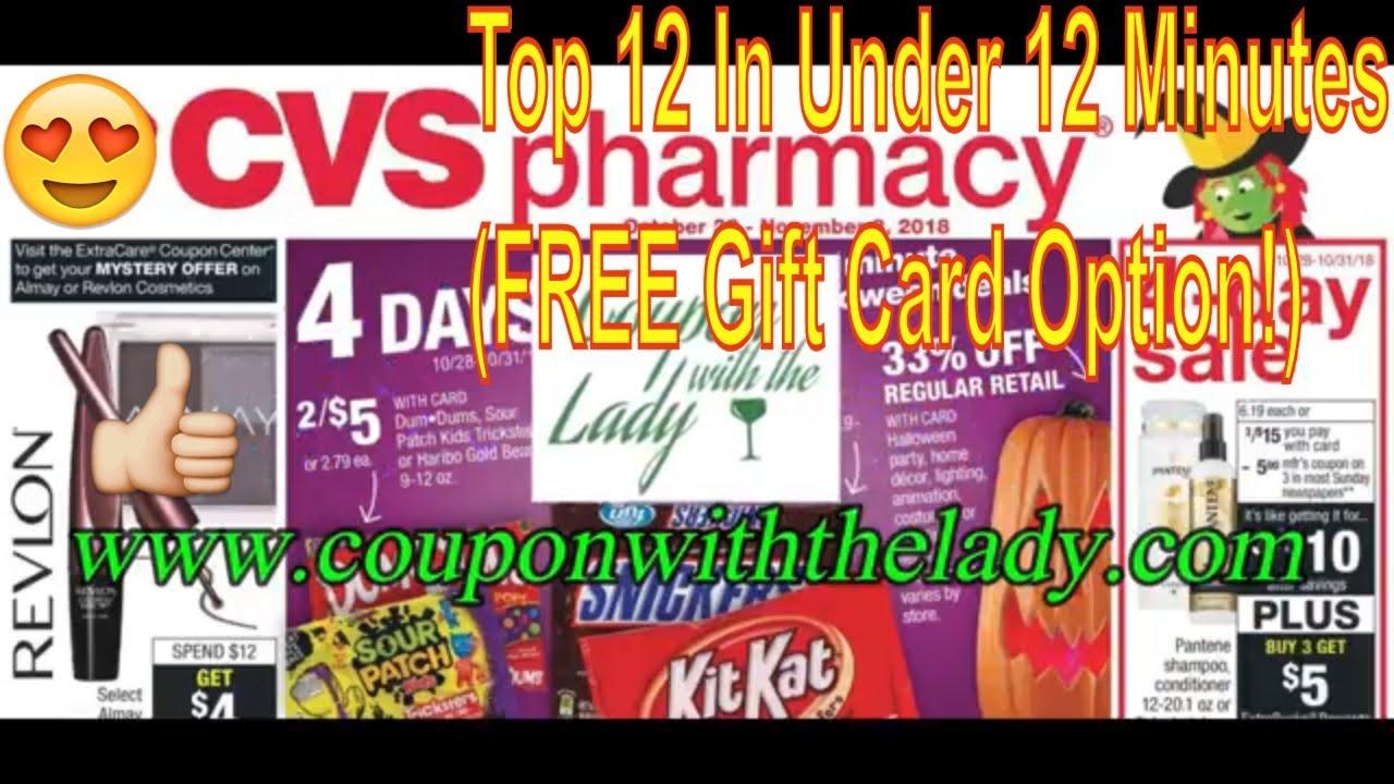 cvs coupon breakdowns  10  28  18  top 12 in under 12