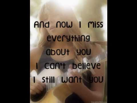 Colbie Caillat  I Never Told You Lyrics On Screen