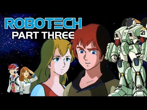Мультфильм роботек 3