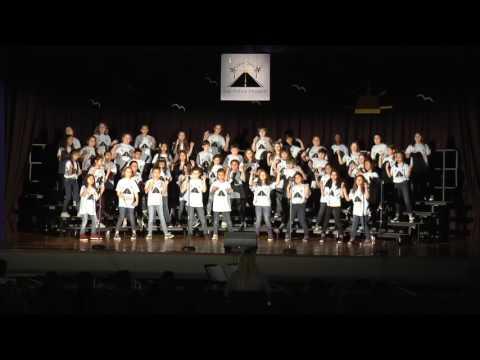 "Edison 4th & 5th Grade Chorus 2017 ""California Dreamin"""