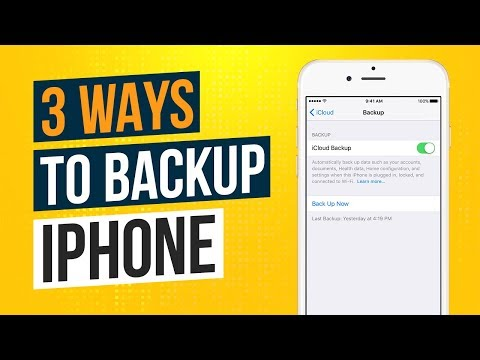 3 Ways to Backup an iPhone or iPad 2019 | How to Backup iPhone to Computer