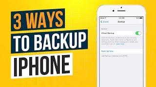 3 Ways to Backup an iPhone or iPad 2018 (Backing Up iPhone) Tech Zaada
