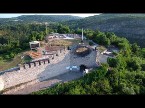 Lovech city - Old town & fortress / UHD video