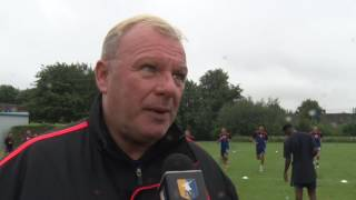 Stags return for pre-season in terrific shape