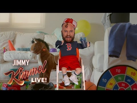 Jimmy Kimmel Chats with Two-Year-Old Who Injured Red Sox Player
