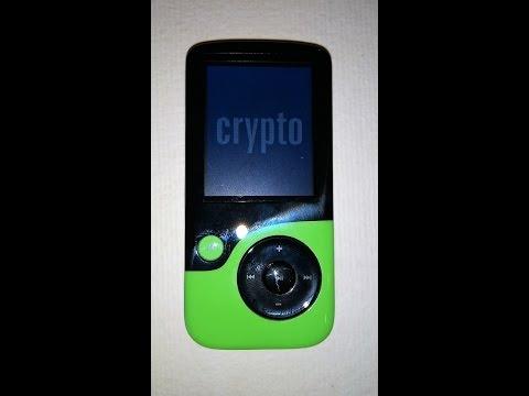 MP4 con radio FM, 8GB, Crypto MP1800