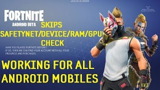 Fortnite Beta Working Mods For All Android Mobile Devices