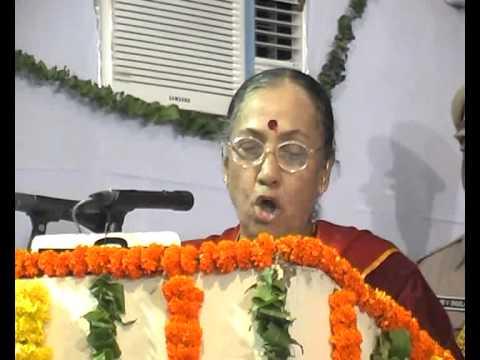 H.E.The Governor Of Rajasthan Smt.Margaret Alva.wmv