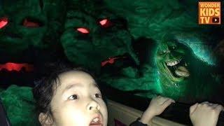 무서운 놀이기구 도전! 신밧드의 모험이 이렇게 무서웠나? horror attraction l kids theme park