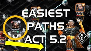 Easiest Paths to Become Uncollected - ACT 5.2 Walkthrough | Marvel Contest of Champions