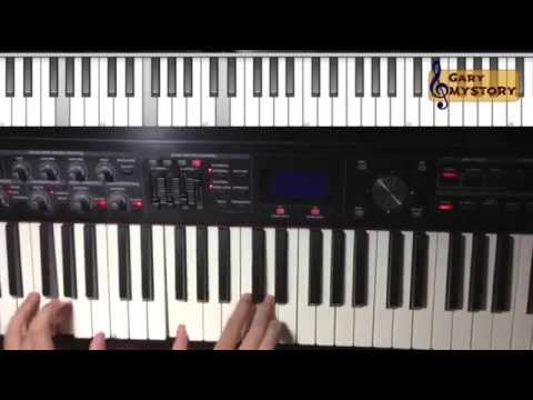 SIMPLE..! Yet Nice Groove in C Major (Jazz Gospel Music) 4-3-2-1