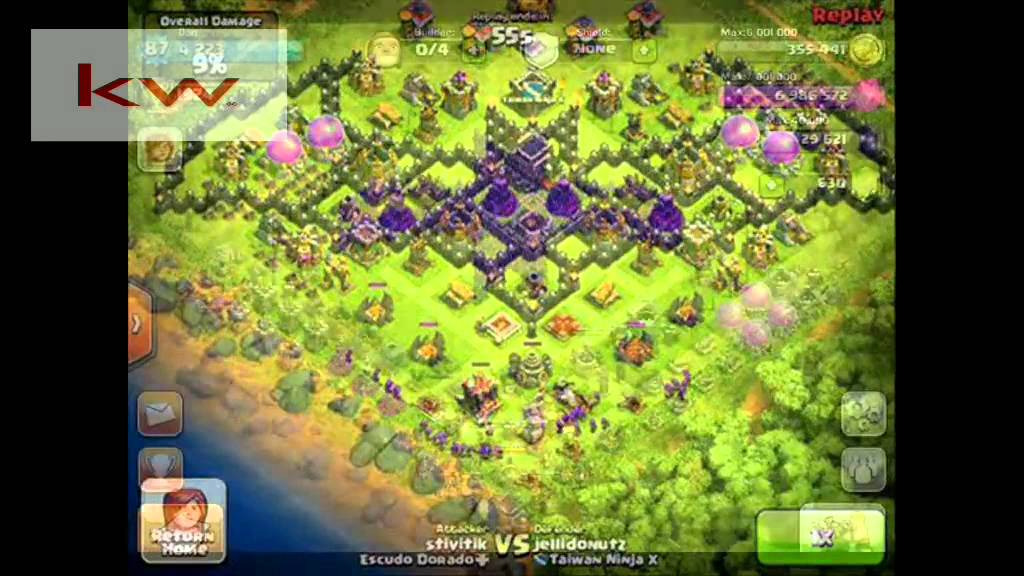 The Best Clash Of Clans Base Unik