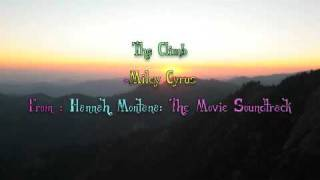 The Climb - Miley Cyrus With Lyrics