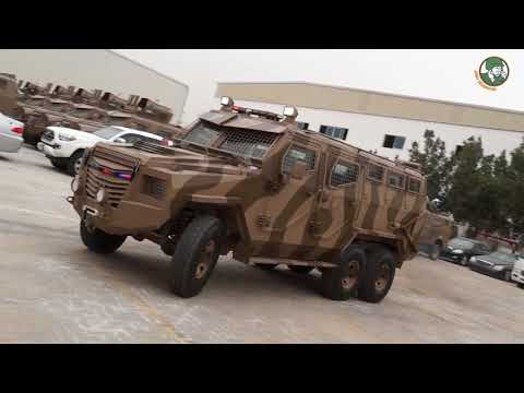 Titan-S 6x6 APC Armored Personnel Carrier new Inkas Vehicles