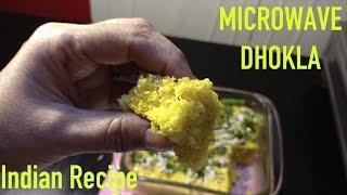 Instant Dhokla in Microwave Recipe || RUCHI KI RUCHI