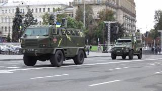 Военные бронеавтомобили КрАЗ на выставке в Киеве