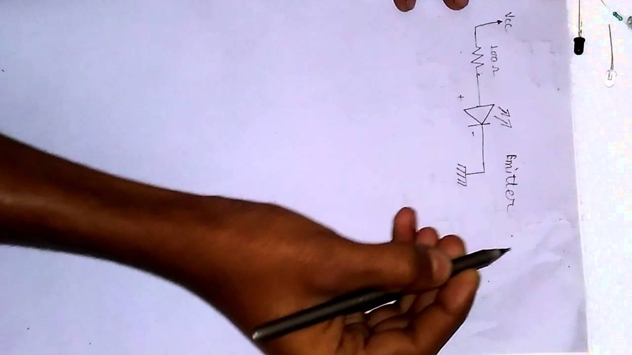 How To Make A Ir Module Very Easy With Circuit Diagram Youtube Repeaters Transmitter Schematic