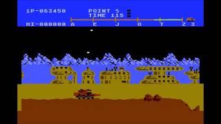 Moon patrol Atari 5200 Longplay
