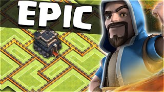 Clash of Clans – EPIC 'TOWN HALL 9 FARMING BASE'!! (CoC Best TH9 Hybrid/Trophy Base 2016)