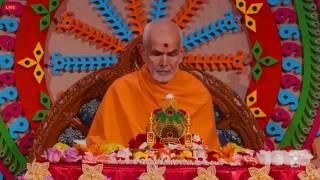 Puja Darshan 25 July 2017   HH Mahant Swami Maharaj Toronto
