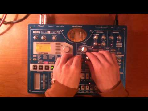 More Improvised grooves with the Korg Electribe EMX-1