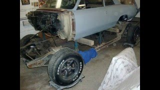 Pulling body off of frame 1966 Beaumont / Chevelle