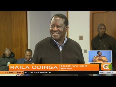 Raila awapa motisha wana Kogalo