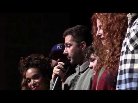 Honey Boy Sundance World Premiere Q&A with Shia LaBeouf