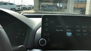 Fuel economy on Accord 2.0 Touring Heavy City Driving Conditions
