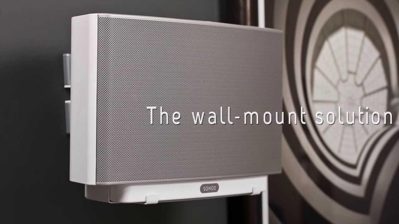 Comment fixer au mur son SONOS Play 5 - YouTube