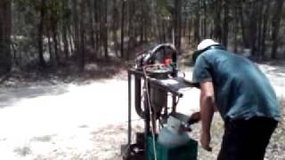 DIY Gas Turbine Startup and Shutdown