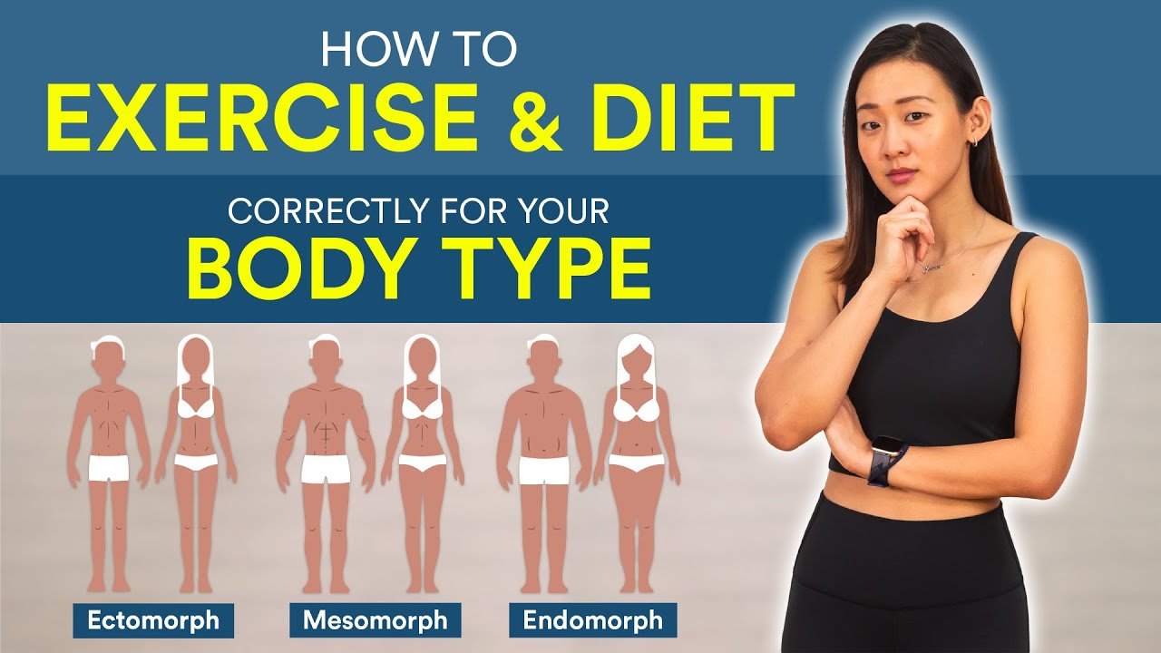 How to Exercise & Diet Correctly for Your Body Type | Joanna Soh