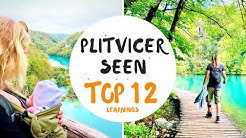 Nationalpark Plitvicer Seen in Kroatien 💚 TOP 12 Learnings