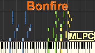 Felix Jaehn feat. ALMA - Bonfire I Piano Tutorial by MLPC
