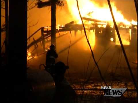 Presque Isle House Fire