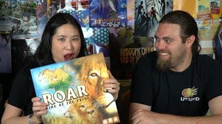 Roar : King of the Pride - Board Game Review