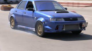 «Лада», которая входит в пятерку быстрых автомобилей в Бишкеке