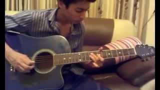 saadi gali aaja(guitar cover)by prashant yadav
