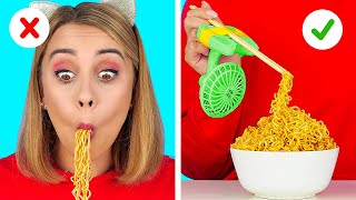 GENIUS HACKS FOR LAZY PEOPLE || Easy Funny Food Hacks and TikTok Tricks by 123 GO! FOOD