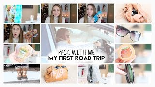 Pack With Me | My First Road Trip | Snack Bag + Weekend Bag + My Comfy Outfit Thumbnail