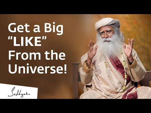 """Forget Facebook, Get a Big """"LIKE"""" From the Universe!"""